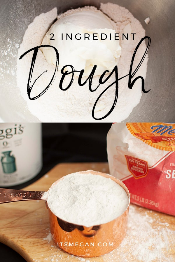 2 Ingredient Dough | It's Megan Blog | #pizzacrust #pretzels #biscuits #2ingredientdough #weightwatchers