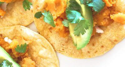 Sweet Potato Tacos | It's Megan Lifestyle Blog | #sweetpotato #tacos #vegan #plantbased #weightwatchers