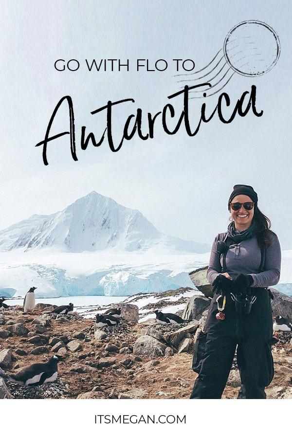 Antarctica - Go with Flo to Antarctica Interview | It's Megan | #antarctica #travel #zoology