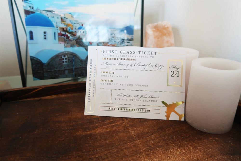Basic Invite and Wedding Website Wedding Sets