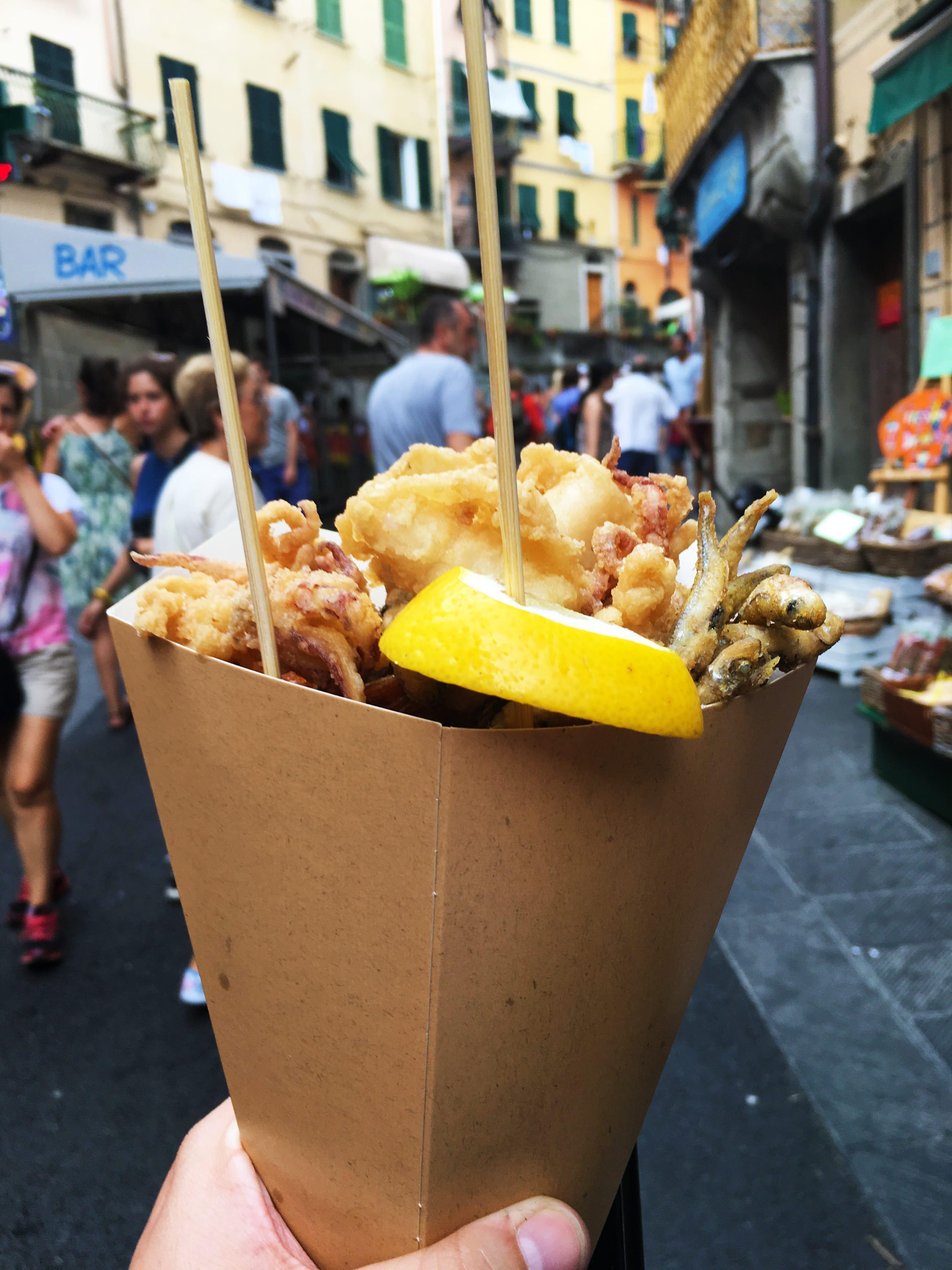 Cinque Terre Food