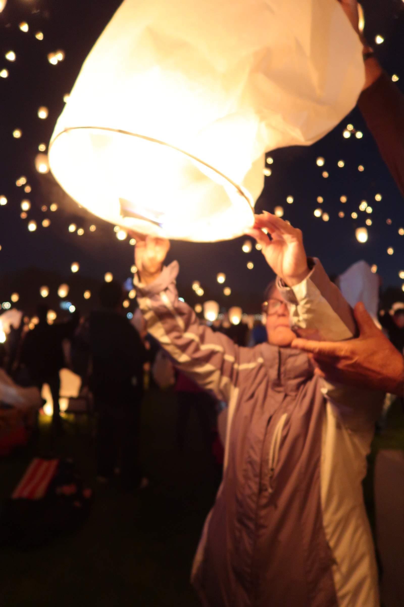 The Lights Fest   It's Megan Blog   #lanternfestival #lanterns #lightsfestival #tangled