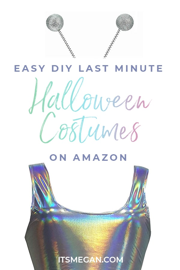 Easy DIY Halloween Costumes on Amazon | It's Megan | #halloween #costumes #diy #halloweencostumes