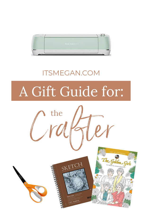 A Gift Guide for the Crafter | It's Megan | #christmas #gift #presents #giftguide