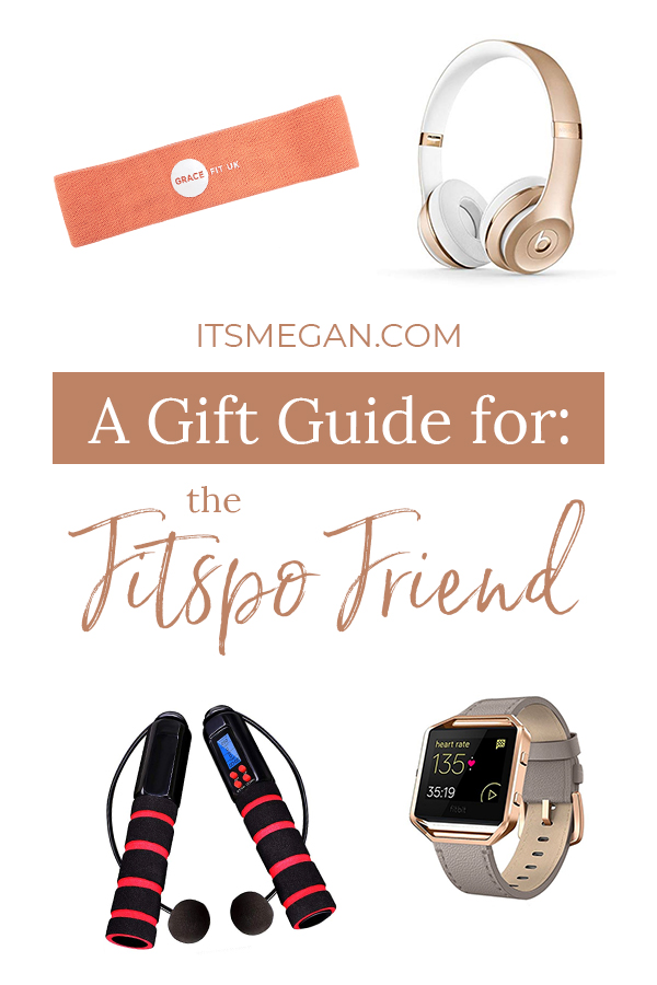 A Gift Guide for the Fitspo Friend | It's Megan | #christmas #gift #presents #giftguide