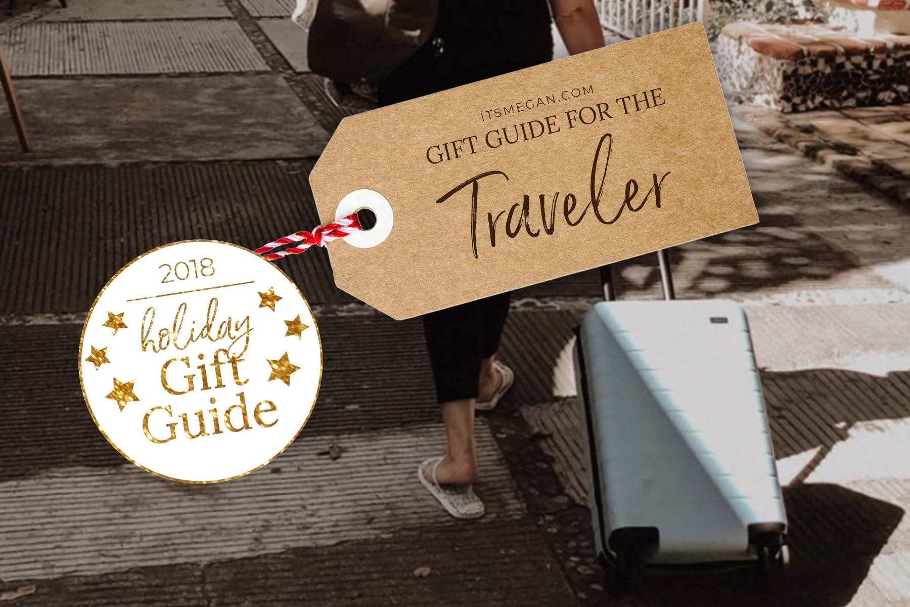 A Gift Guide for the Traveler | It's Megan | #christmas #gift #presents #giftguide