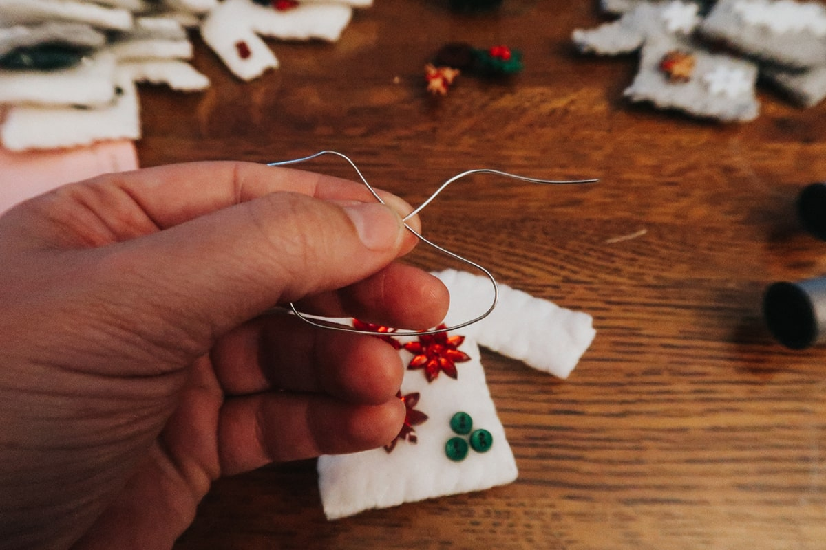 DIY Christmas Sweater Ornaments for Beginners | It's Megan | #christmas #ornaments #diy #craft #christmassweater